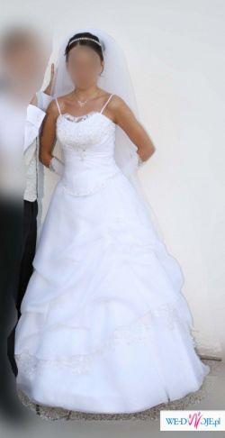 Sprzedam bajecznie piękną suknię ślubną!!!