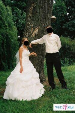 Sprzedam bajkową suknie ślubną