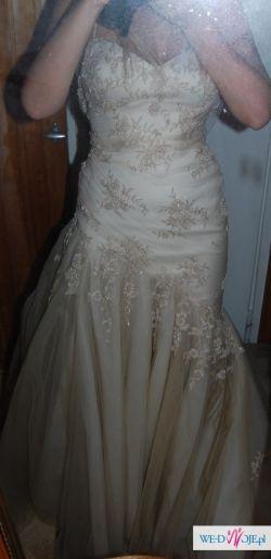 sprzedam bajkową suknię ślubną hiszpańskiej firmy pronovias model badil