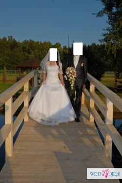 Sprzedam bajkową suknie ślubną r .36