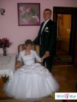 sprzedam balowa suknie śłubną..... piękna... poolecam.
