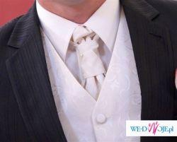 Sprzedam bardzo efektowną  kamizelkę ślubną  w rozmiarze M