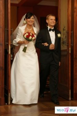 sprzedam bardzo elegancką suknię ślubną Camille marki Cymbeline