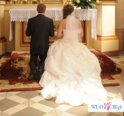 Sprzedam bardzo tanio suknię ślubną!
