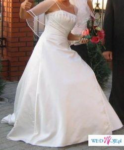 sprzedam bardzo tanio suknię ślubną