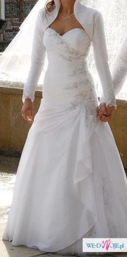 Sprzedam białą suknie