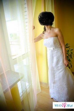 Sprzedam białą suknię