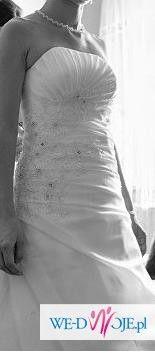 sprzedam białą suknię ślubną -500 zł