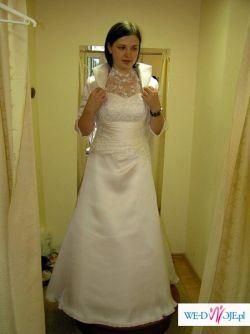 Sprzedam białą suknię slubną