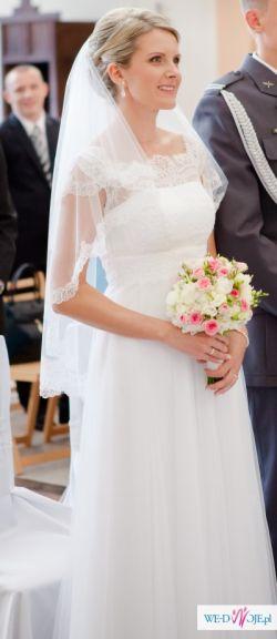 Sprzedam białą suknie ślubną Margarett