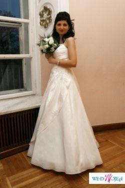 sprzedam białą suknię ślubną - rozm36