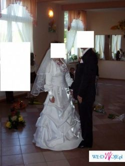 Sprzedam białą suknię ślubną  TANIOO!!!