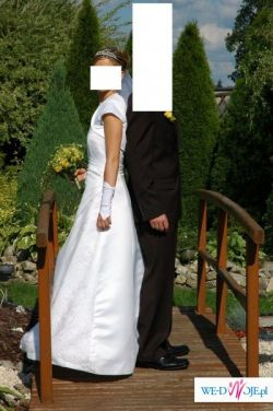 sprzedam biała suknie slubna wraz z dodatkami