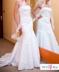 Sprzedam biala suknie slubna z kolekcji 2009