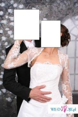 Sprzedam białą suknie ślubną z salonu Kareen