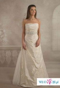 Sprzedam białą suknię ślubną z salonu Visual Chris