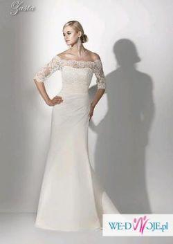 Sprzedam białą suknię ślubną ZASTA z kolekcji Gala