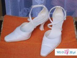 Sprzedam buty ślubne w kolorze białym