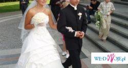 Sprzedam cudną!suknię ślubną nr.38 ecrue