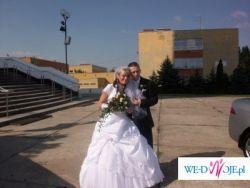 Sprzedam cudowną bialutką suknie ślubną!!!