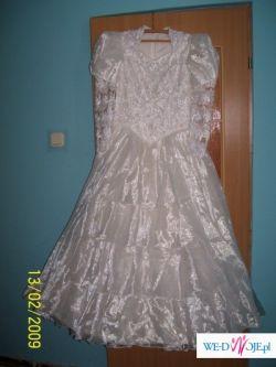 Sprzedam cudowną suknie ślubną rozm: 39/40-wzr:170