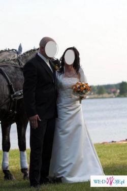 Sprzedam delikatną ale zmysłową suknię ślubną