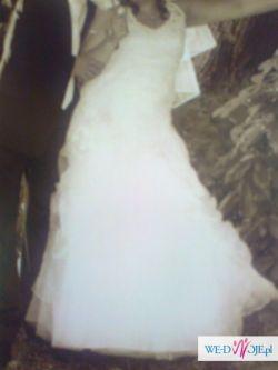 Sprzedam delikatną i uroczą suknię śłubną