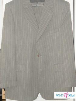 Sprzedam duży nowy garnitur