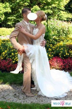 Sprzedam elegancką i bardzo seksowną suknie ślubną