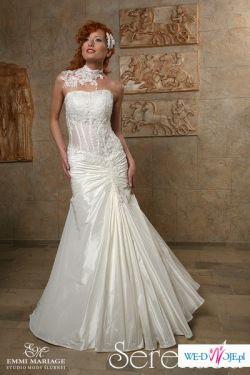 Sprzedam elegancką, nową suknię ślubną SERENADA firmy Emmi Mariage