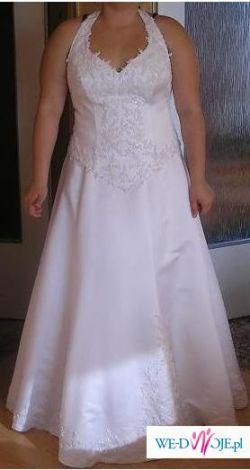 sprzedam elegancką suknie ślubna
