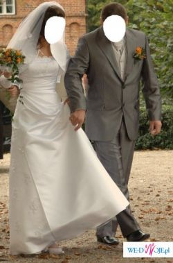 Sprzedam elegancką suknie ślubną