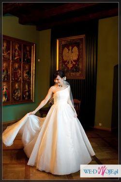 Sprzedam francuską suknię ślubną