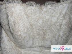 Sprzedam francuską suknię ślubną enivrante