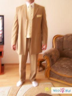 sprzedam garnitur wraz z kamizelka i krawatem