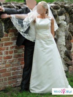 Sprzedam hiszpańską suknię firmy Villais, model Estela.