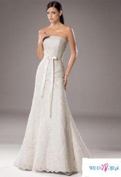 sprzedam hiszpańską suknię ślubną 2009 the White One176