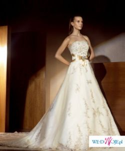 sprzedam hiszpanską suknie ślubną Atelier Diagonal model 820, Pronovias, St.Patr