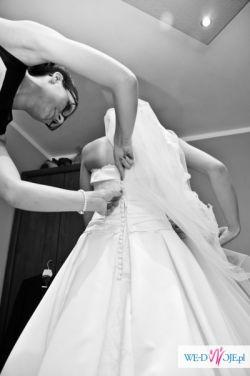 Sprzedam hiszpańską suknię ślubną JAMILA 2014 z kolekcji White One!