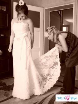 Sprzedam Hiszpańską Suknię Ślubną Kolekcja White One model 176