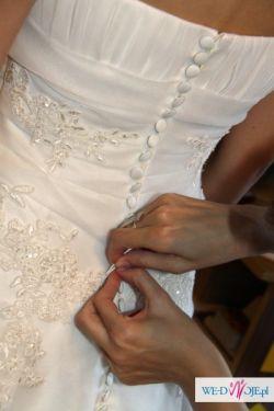 Sprzedam hiszpańską suknię ślubną La Sopsa Laponia