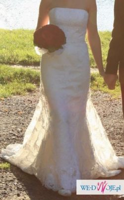 Sprzedam hiszpańską suknię ślubną pronovias- model India