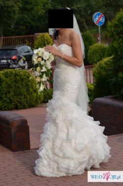 Sprzedam hiszpańską suknię ślubną San Patrick, model ERESMA.