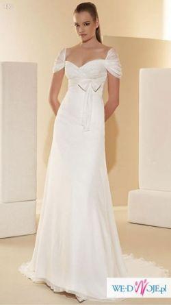Sprzedam hiszpańską suknię ślubną White One z domu mody Pronovias
