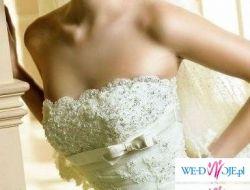 Sprzedam hiszpańską  suknię White One 176 roz. 34/36