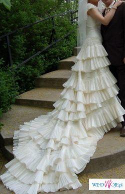 Sprzedam hiszpańską suknię z kolekcji Villais 2007!!!