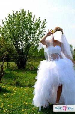 Sprzedam interesująca suknie ślubną!!!!!!!