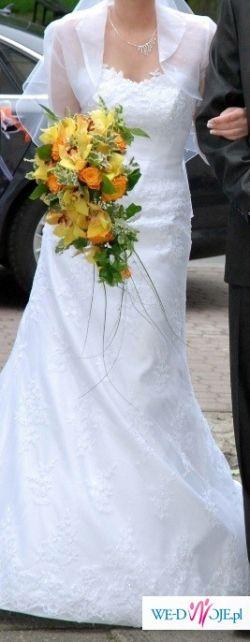 Sprzedam jednoczęściową suknie ślubną