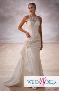 Sprzedam jednoczęściową suknię ślubną z kolekcji DEMETRIOS 2009, MOD 3109-biała
