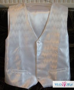 Sprzedam kamizelkę ślubną + krawatnik + butonierka